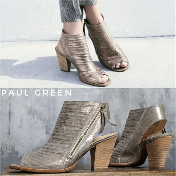 59e7ab7d8d1 Paul Green Cayanne Leather Sandals in Smoke. M 5c166fab8ad2f9a31f524619